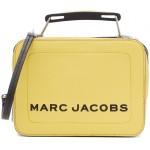 Yellow 'The Textured Mini Box' Bag