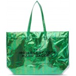 Green PVC 'The Iridescent' Tote