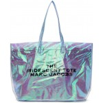 Blue PVC 'The Iridescent' Tote