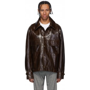 Brown Barlon Jacket