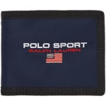 Navy Polo Sport Bifold Wallet