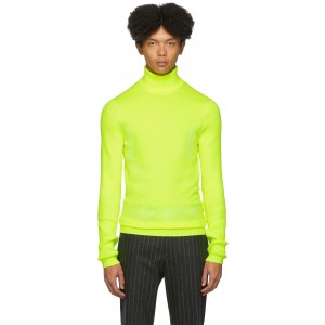 Yellow Roll Neck Sweater