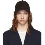 Black Lambskin Baseball Hat