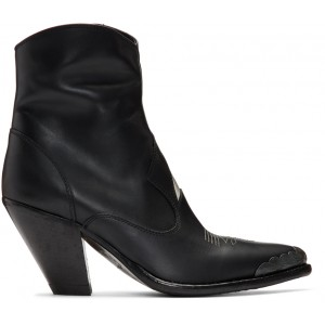 Black Nora Star Boots