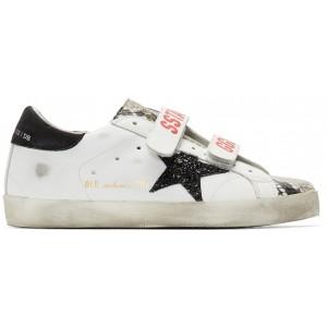 White Snake Old School Sneakers