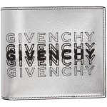 Silver Embroidered Logo 8CC Wallet