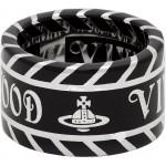 Silver & Black Jacinda Ring