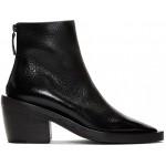 Black Coneros Tronchetto Zip Boots