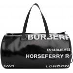 Black Graphic Kennedy Duffle Bag