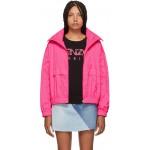 Pink Logo Windbreaker Jacket
