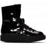 Black Patent Alaska Boots