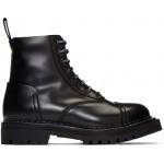 Black Kamden Lace-Up Boots