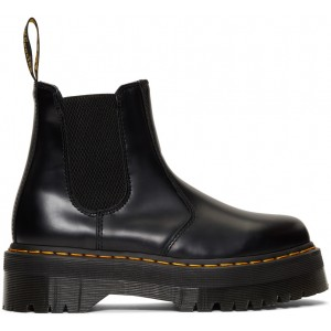 Black 2976 Quad Chelsea Boots