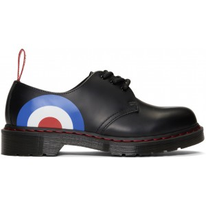 Black The Who Edition 1461 Lace-Up Derbys