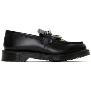 Black & Tan Adrian Snaffle Loafers