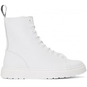 White Zaniel Brando High-Top Sneakers