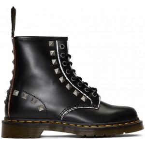 Black 1460 Stud Boots