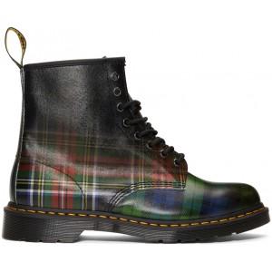 Multicolor Plaid 1460 Tartan Boots