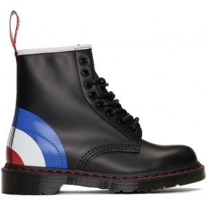 Black The Who Edition 1460 Lace-Up Boots
