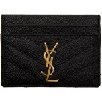 Black Monogramme Card Holder