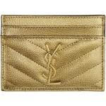 Gold Monogramme Card Holder