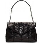 Black Medium Puffer Loulou Bag