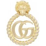 Gold Single GG Lionhead Earring