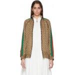 Brown G Rhombus Jacket