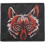 Black GG Supreme Wolf Wallet