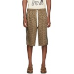 Brown G Rhombus Shorts