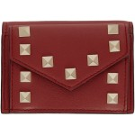 Red Valentino Garavani Small Rockstud Wallet