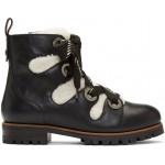 Black Bei Flat Boots