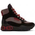 Black & Red Inca Boots