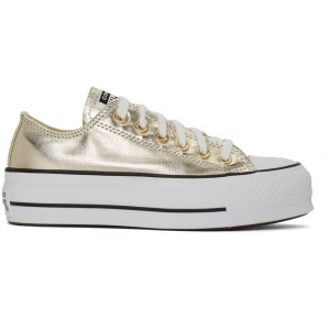 Gold Chuck Taylor All Star Lift Sneakers