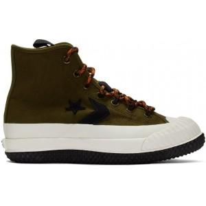 Khaki Bosey MC High-Top Sneakers