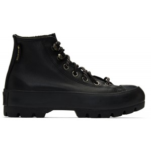 Black Winter Chuck Taylor Lugged High-Top Sneakers