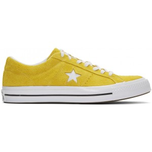 Yellow Suede One Star Vintage OX Sneakers