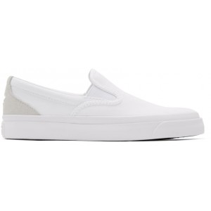 White Suede One Star CC Slip-On Sneakers