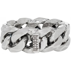 Silver Rigid Chain Act2 Ring