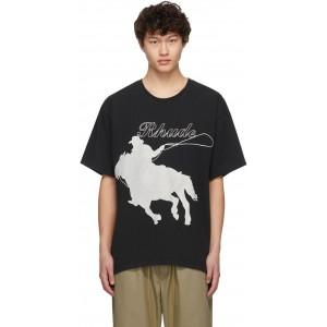 Black Lasso T-Shirt