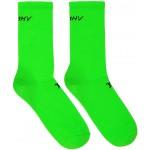 Green Logo Socks