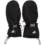 Black Nylon Mittens