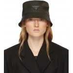 Khaki Nylon Bucket Hat