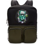 Black Universal Studios Edition Frankenstein Logo Backpack