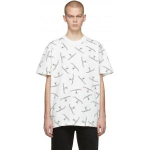 White Logo Crew T-Shirt