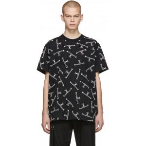 Black Logo Crew T-Shirt