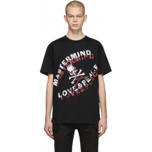 Black 'Love & Peace' T-Shirt