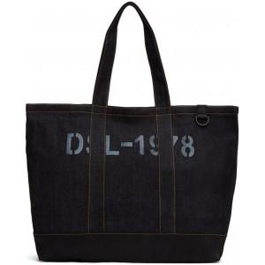 Indigo & Black D-Thisbag Shopping Tote