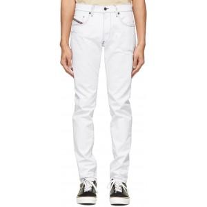White D-Strukt Jeans