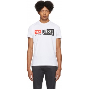White Diego-Cuty T-Shirt